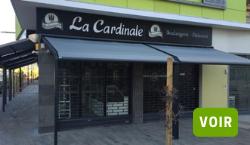 Store velum de la boulangerie La Cardinale