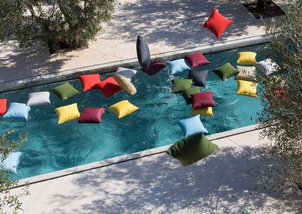 coussins piscine resistant