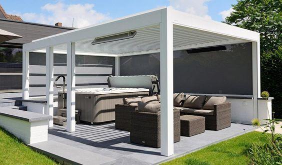 mobilier extérieur haut de gamme-pergola