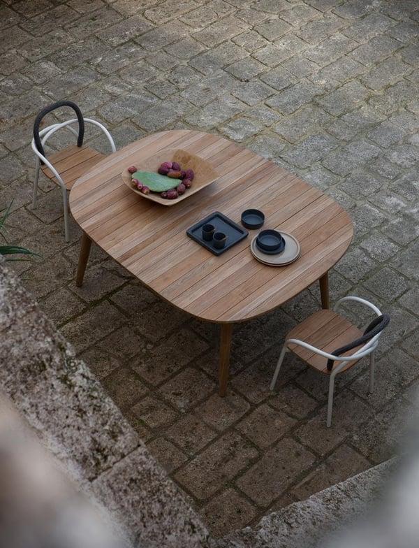 mobilier de jardin table a rallonge