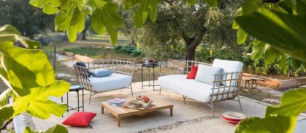 mobilier de jardin elegant