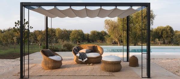 mobilier exterieur de jardin convivial