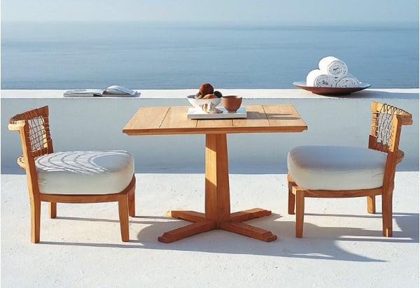 table-a-manger-mobilier-de-jardin petit dejeuner